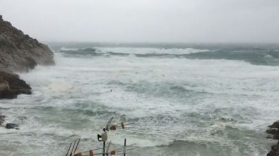 Alerta máxima en Baleares por rachas de viento de hasta 140 kilómetros por hora