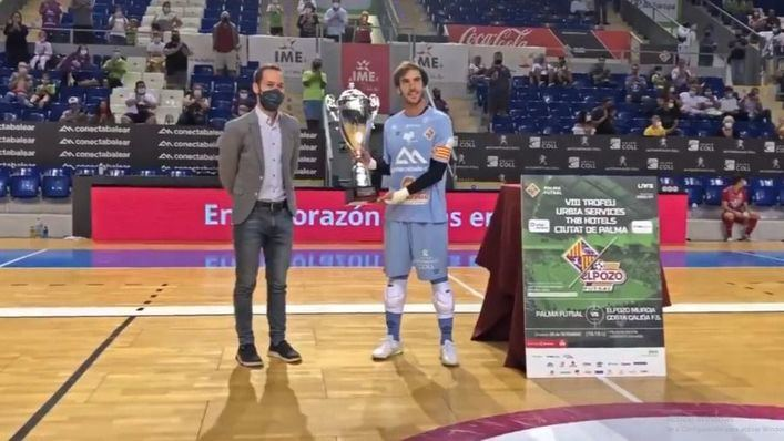 El Palma Futsal se alza con el Ciudad de Palma Urbia Service THB Hoteles