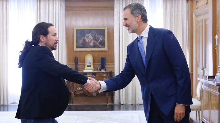 Unidas Podemos quiere prohibir que el Rey haga discursos sin control del Gobierno