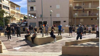 Protesta en s'Arenal por la decisión de usar un céntrico hotel para aislar pacientes de Covid 19