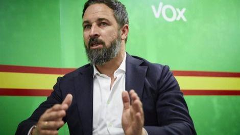 Vox registra este martes su moción de censura contra Pedro Sánchez