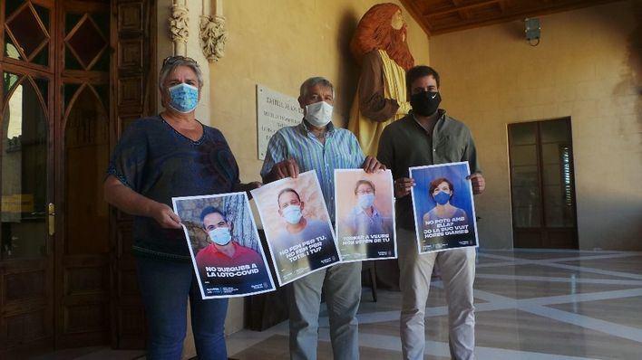 Andratx: Campaña de concienciación para frenar el avance de la Covid 19