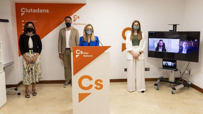 Guasp apuesta por el feminismo y el municipalismo en el nuevo Comité de Cs Baleares