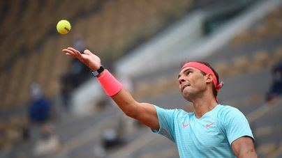Nadal pasa por encima de su rival y ya está en tercera ronda de Roland Garros