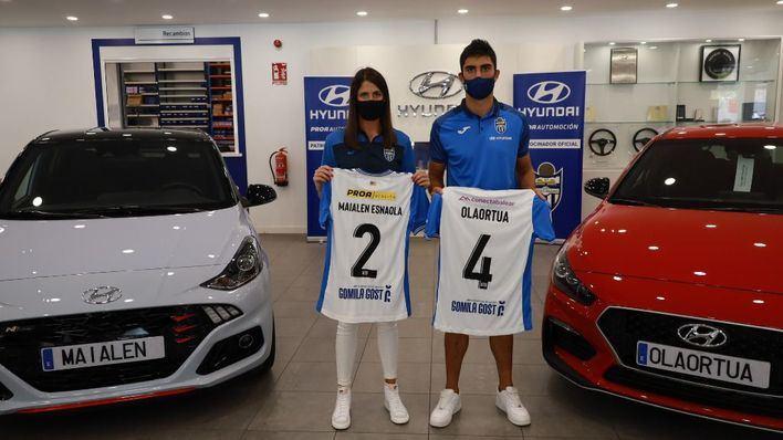 Iñaki Olaortua y Maialen Esnaola: un matrimonio de futbolistas para el Atlético de Baleares