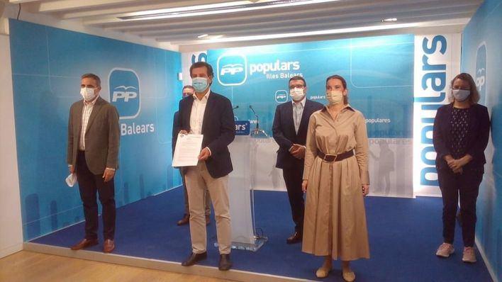 PP presenta una nueva propuesta de régimen fiscal y acusa a Sánchez y Armengol de crear un agujero de 500 millones