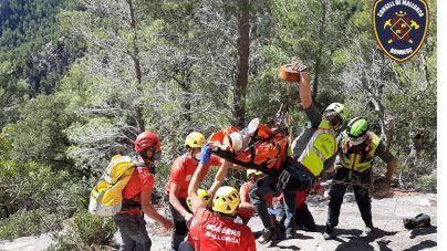 Un escalador cae desde 15 metros en el Castell d'Alaró