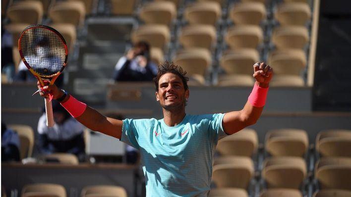 Nadal pulveriza a Korda y se planta en cuartos de Roland Garros