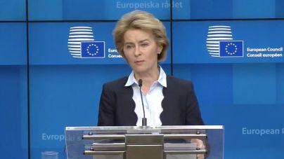 La presidenta de la Comisión Europea, en cuarentena por contacto estrecho con un positivo en Covid 19