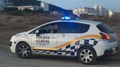 Herido en Ibiza al caer de la moto que conducía