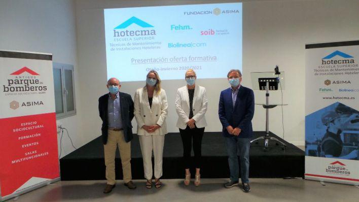 Hotecma dobla su oferta formativa para jóvenes en paro y profesionales y lanza una FP Dual para técnicos de almacén