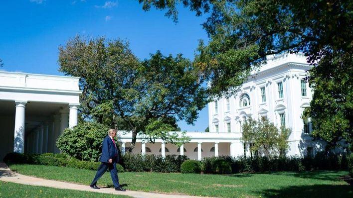 Regreso triunfal de Trump a la Casa Blanca: 'Salgan. No dejen que el virus domine sus vidas'