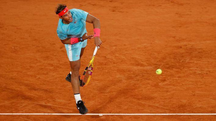 Nadal se impone al italiano Sinner y ya está en semifinales de Roland Garros