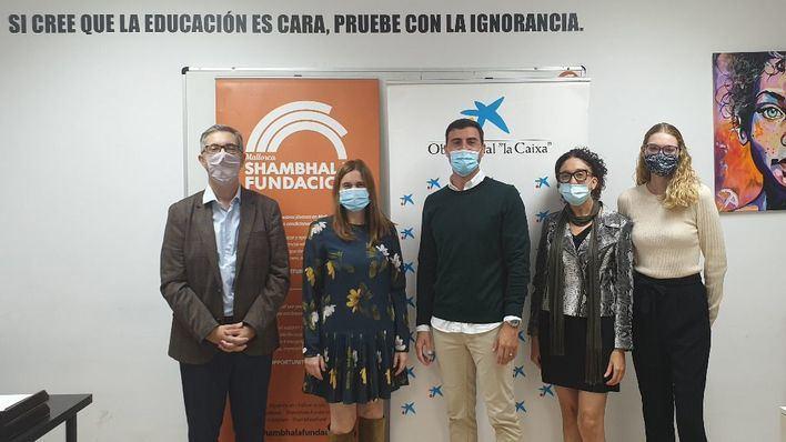 CaixaBank apoya un proyecto de la Fundación Shambhala en Mallorca centrado en la educación