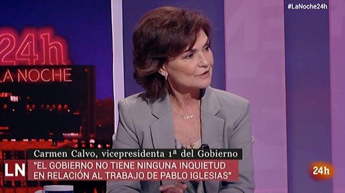 Calvo: 'El caso Dina no tiene nada que ver con la labor de Iglesias en el Gobierno'