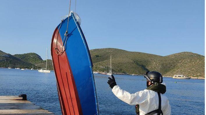 Llega una quinta patera a Formentera y el número provisional de migrantes asciende a 59