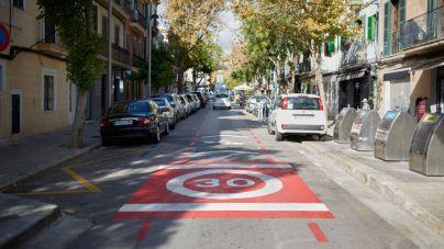 190 calles de Palma tendrán restringida la velocidad por debajo de los 50 kilómetros hora