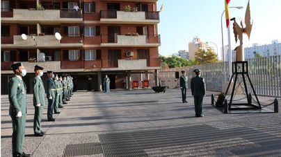 Homenaje de la Guardia Civil de Baleares a su Patrona