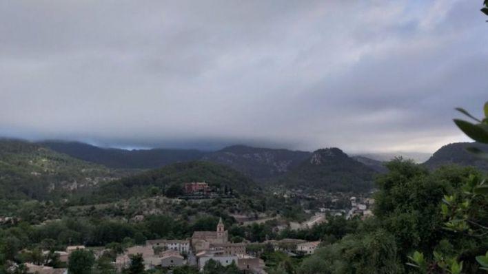 Las lluvias dejan 32,6 litros por metro cuadrado en Pollença, 16 en Lluc y 12,2 en la UIB
