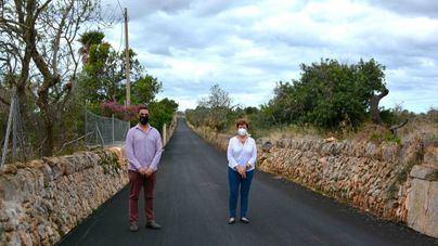 Santanyí empieza las obras de asfaltado en el núcleo de es Llombards