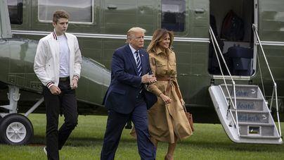 El hijo menor de Trump también se contagia de coronavirus y sacude la campaña electoral