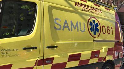 Un ciclista de 13 años sufre heridas leves tras chocar contra una furgoneta en Manacor