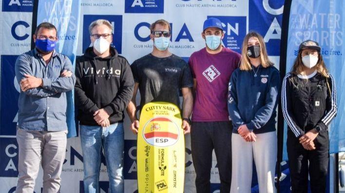 El Club Nàutic de s'Arenal acoge la tercera prueba de la 'Formula Kite Spain Series'