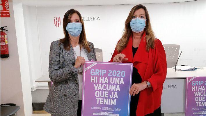 Llamada urgente del Govern a los grupos de riesgo: han de vacunarse contra la gripe