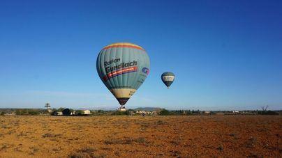 Mallorca Ballons y Aspanob invitan a diez pequeños a un vuelo con globo aerostático