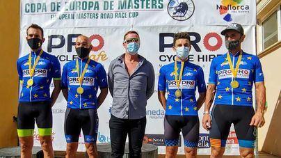 La Copa de Europa de Ciclismo Masters ya tiene campeones