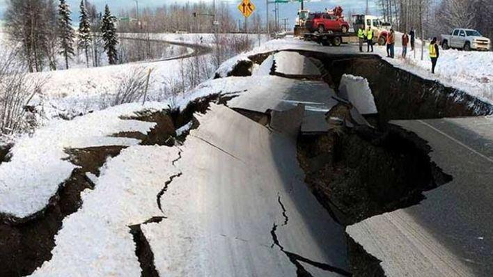 Alaska, en estado de alerta por un terremoto de 7,5 grados que aviva el riesgo de tsunami
