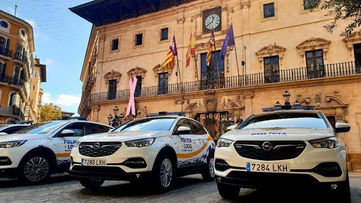 La Policía Local de Palma continúa ampliando su flota de vehículos