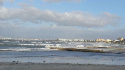 'Bárbara' deja hoy rachas de viento de hasta 100 kilómetros por hora en Mallorca