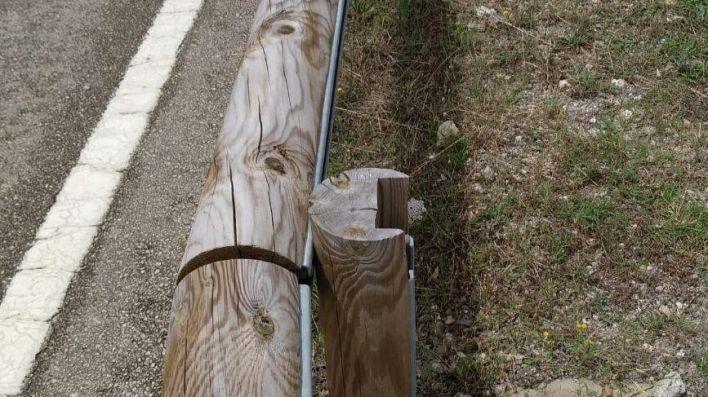 Sustituyen los quitamiedos por barreras de madera en 31,7 kilómetros de Mallorca
