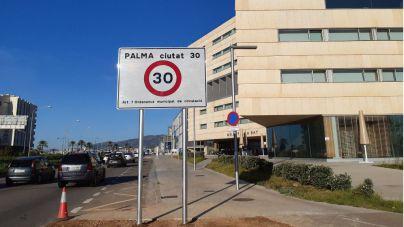 Vox dice que Cort limita la velocidad a 30 para poner multas