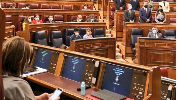 Vox se queda solo y pierde la moción de censura en el Congreso de los Diputados