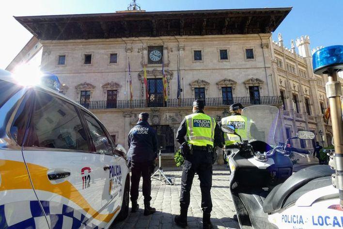 Detenido en Palma por agredir con un machete a una mujer tras pegarle una bofetada