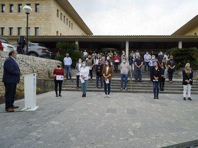 Calvià rechaza la violencia machista y condena el asesinato de Habibe en Peguera