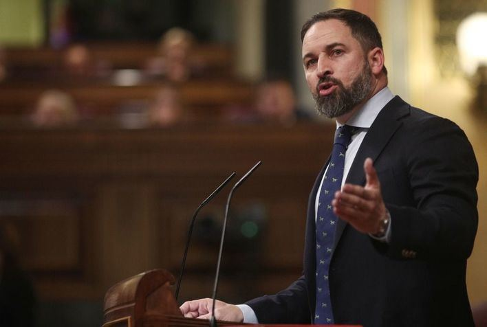 Santiago Abascal asegura que no peligran los gobiernos con el PP