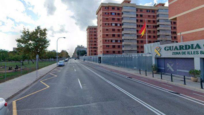 Buscan a un motorista que se ha dado a la fuga tras un accidente en Palma