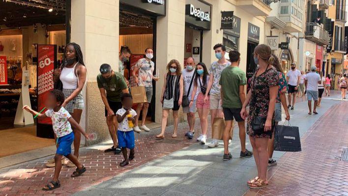 La Policía de Palma impone cerca de 3.000 denuncias desde julio por no llevar mascarilla
