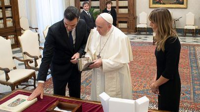 El Papa advierte a Sánchez del peligro de las ideologías