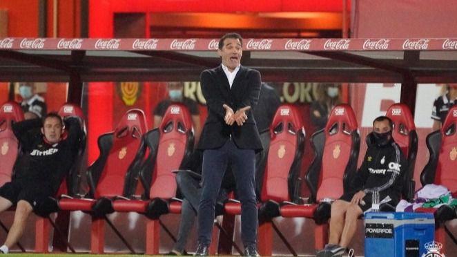 Luís García resta importancia a la falta de goles: