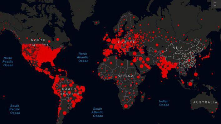 Las cifras del coronavirus en tiempo real: más de 62,7 millones de infectados y un 1,4 millones de fallecidos