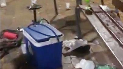 La Policía disuelve un botellón de 25 personas en sa Talaia, Ibiza