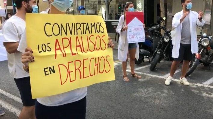 Los médicos, en huelga por una ley