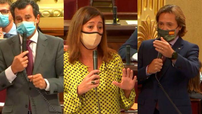 PP y Vox insisten en la dimisión de Armengol por el escándalo del Hat Bar