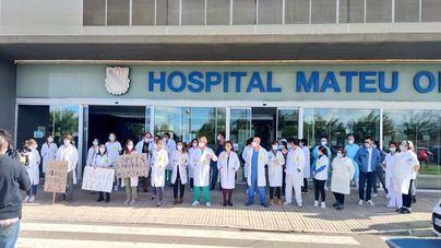 La huelga de médicos en Baleares tiene un seguimiento de entre el 70 y el 80 por ciento