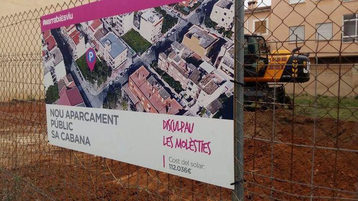 Marratxí habilita 16 plazas de aparcamiento gratuitos en Sa Cabana