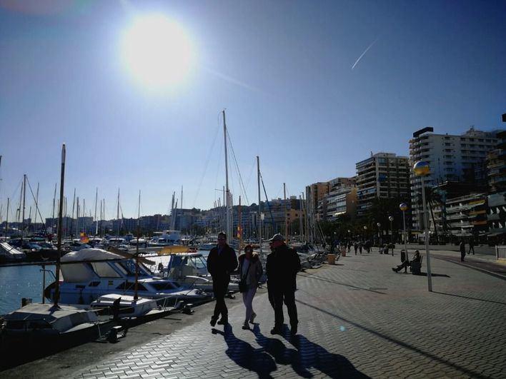 Suben los termómetros en Baleares